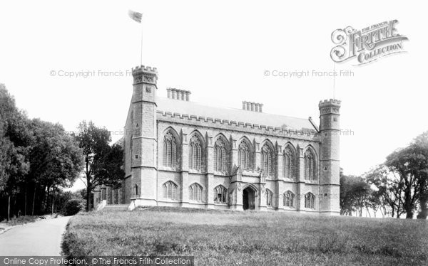 Photo of Jersey, St Helier, Victoria College 1894