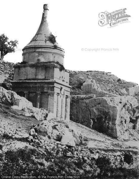 Photo of Jerusalem, Absalom's Tomb 1857