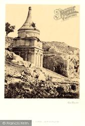 Absalom's Tomb 1857, Jerusalem