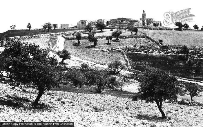 Photo of Jerusalem, Church Of The Ascension, Mount Of Olives 1858