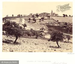 Church Of The Ascension, Mount Of Olives 1858, Jerusalem