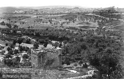 From Mount Scopus 1858, Jerusalem