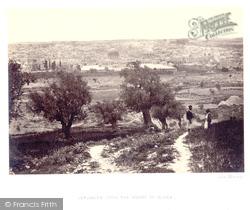 From The Mount Of Olives 1857, Jerusalem