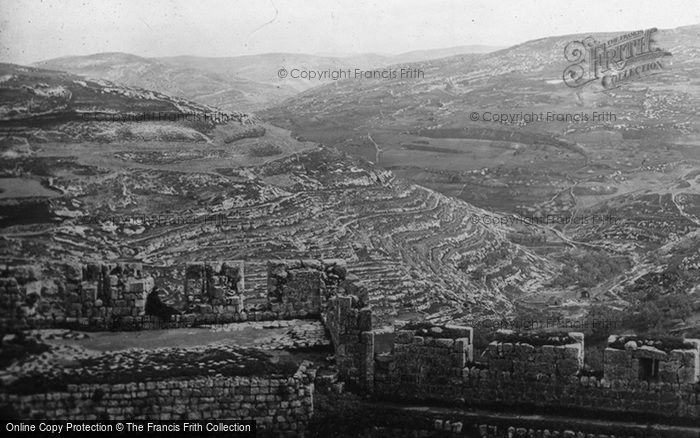 Photo of Jerusalem, From The Walls, East c.1867
