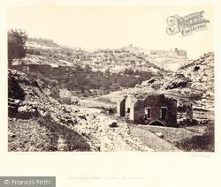 From The Well Of En-Rogel 1857, Jerusalem