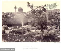 The Pool Of Bethesda 1857, Jerusalem