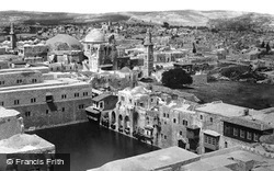 The Pool Of Hezekiah From The Tower Of Hippicus 1857, Jerusalem