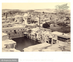 Jerusalem, The Pool Of Hezekiah From The Tower Of Hippicus 1857