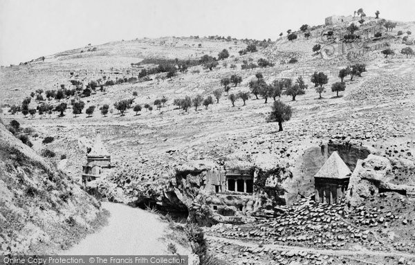 Photo of Jerusalem, The Valley Of Jehoshaphat 1858