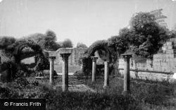Chapter House 1893, Jervaulx Abbey