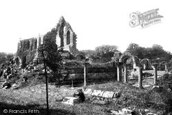 Chapter House 1896, Jervaulx Abbey