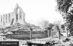 Chapter House c.1960, Jervaulx Abbey