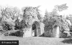 Doorways To Church And Lay Brothers Frater c.1960, Jervaulx Abbey