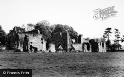 From South West c.1960, Jervaulx Abbey