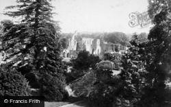 General View 1896, Jervaulx Abbey