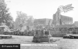 Looking South From Church c.1960, Jervaulx Abbey