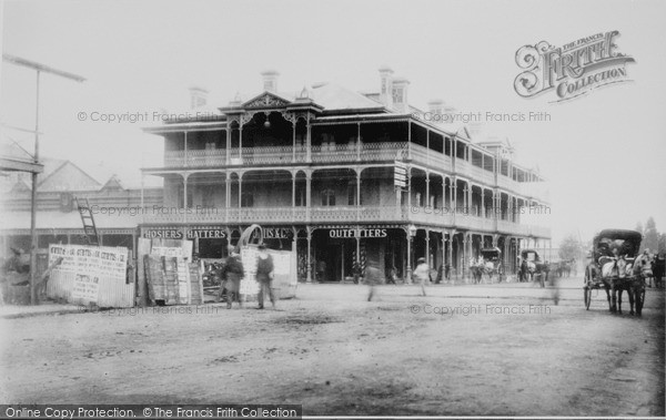 Photo of Johannesburgh, Loveday And Commissioner Street 1894