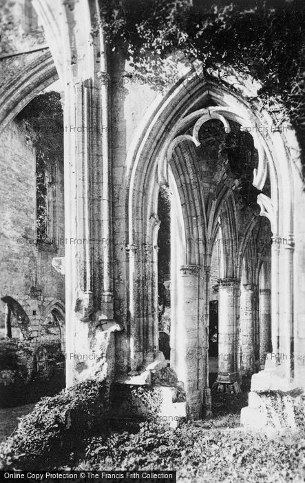 Photo of Jumièges, Abbey, Arch Detail c.1930