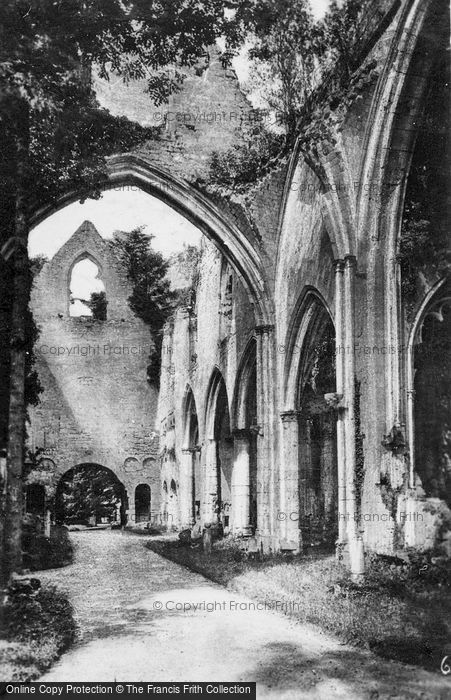 Photo of Jumièges, Abbey c.1930
