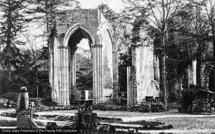 Photo of Jumièges, Abbey, Cloisters c.1930