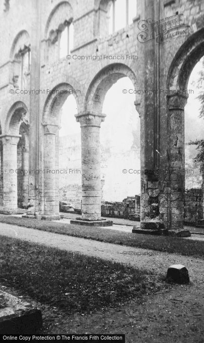 Photo of Jumièges, The Abbey 1964