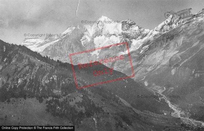 Photo of Kandersteg, Mountain View c.1935