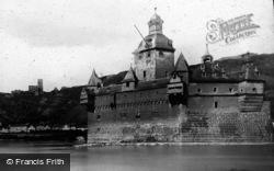 Kaub, And The Pfalz c.1883