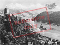 Gutenfels And Pfalz c.1930, Kaub