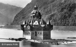 Pfalzgrafenstein Castle c.1930, Kaub