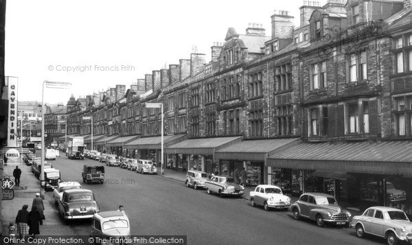 Keighley, Cavendish Street c1960