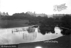 Keighley, Lund Park c.1910