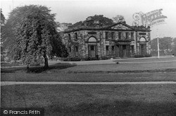 Keighley, Mansion House, Victoria Park c.1950
