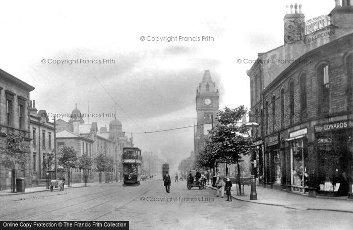 Keighley, North Street c1910