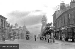 Keighley, North Street c.1910