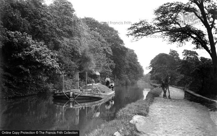 Photo of Keighley, On The Canal c.1910