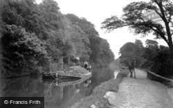 Keighley, on the Canal c1910