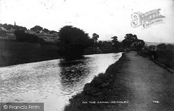 Keighley, On The Canal c.1910