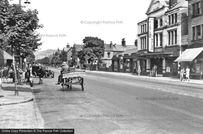 Keighley, Skipton Road 1951
