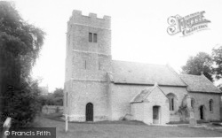 St Mary's Church c.1965, Keinton Mandeville