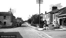 The Cross Roads c.1955, Keinton Mandeville