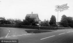 The Cross Roads c.1965, Keinton Mandeville