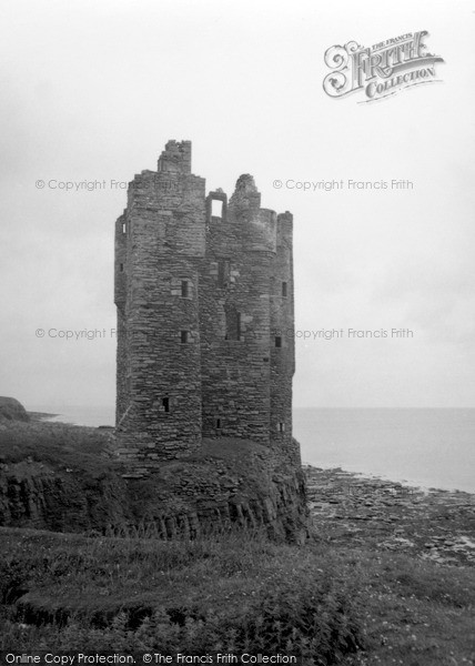 Photo of Keiss, Castle 1952
