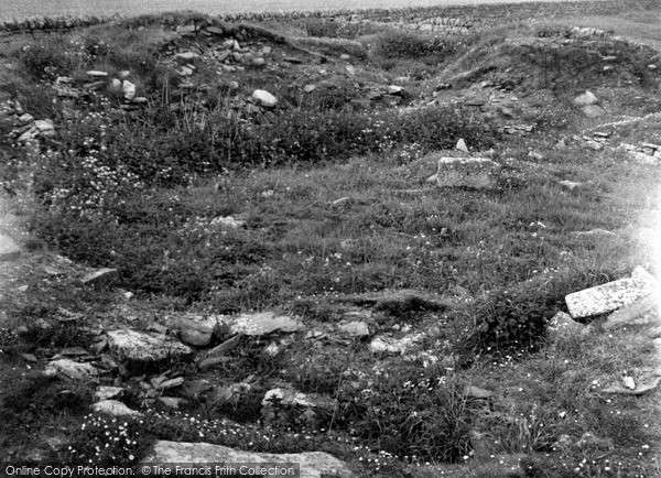 Photo of Keiss, Harbour Broch 1954