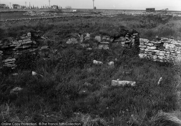 Photo of Keiss, Road Broch 1954