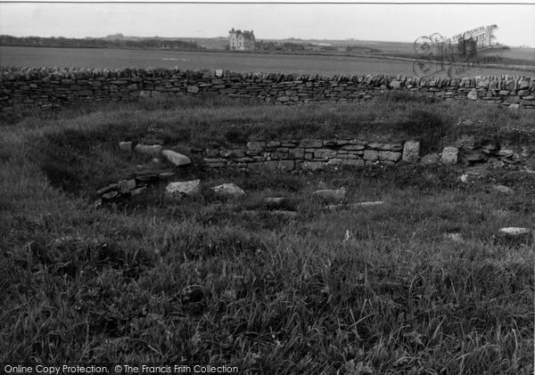 Photo of Keiss, White Gate Broch 1954