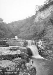 Keld, Kisdon Falls c.1932
