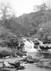 Keld, Stonedale Falls c.1932
