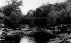 Keld, The Bridge c.1960