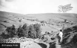 Keld, View From Kisdon c.1950