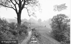 Keld, Village From River Walk c.1934